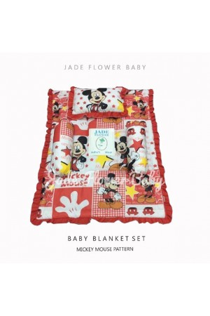 Bedcover Set - Mickey Merah
